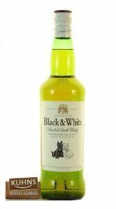 Black&White Blended Scotch Whisky 1,0l, alc. 40 Vol.-%