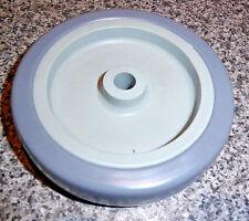 "2 x  4.3/4"" (120 mm) wheels (new) make a trolley, cart, mh grey/light grey"
