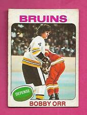 1975-76 OPC  # 100  BRUINS BOBBY ORR  GOOD  CARD (INV# D0223)