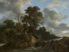 JACOB VAN RUISDAEL DUTCH LANDSCAPE OLD ART PAINTING POSTER PRINT BB5736A