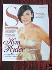 KYM RYDER - SUNDAY EXPRESS  - UK SUPPLIMENT MAGAZINE - 13 AUG 2006