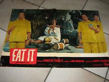 EAT IT (Mangiala),Casaretti,MORRICONE,Villaggio,1969,n2