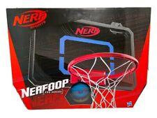 Nerf Sports Nerfoop Pro Series Indoor Basketball Hoop Grip Ball Clear Backboard