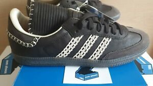 adidas Wales Bonner Samba UK 9.5   US 10   EU 44   BNWT Unworn Black FX7517