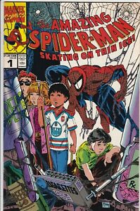 THE AMAZING SPIDER-MAN: SKATING ON THIN ICE #1 CANADIAN VARIANT VF/NM MCFARLANE