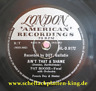 Pat Boone 78 RPM / Ain`t That A Shame & Tennessee Saturday Night (284-0620-P)
