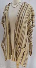 Denim & Supply Ralph Lauren Rockabilly poncho hooded Cardigan Shrug M VTG $225