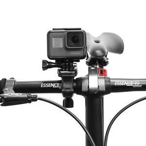 360°Rotate Bicycle Handlebar Seatpost Pole Clamp Mount  Fr Gopro Hero Camera