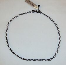Necklace ~ GUESS Brand Metal Chain w/Figaro Style Links ~ NEW 5410140