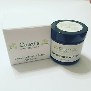 Caley's Apothecary Frankincense & Rose Face Cream 50g. Rejuventing & nourishing.