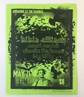 May 21,2010 concert flyer~BIBIS ELLISON,Mount Moriah,Charlie The Horse,Big Kitty