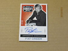 2015 Country Music Signatures Silver #30 Pat Green SN 30/49