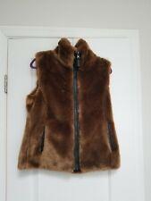 Faux Fur Vest, Ladies M
