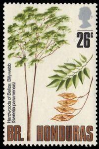 "BRITISH HONDURAS 285 (SG317) - Trees ""Sweetia panamensis"" (pa88113)"