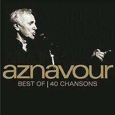 Charles Aznavour - Best Of 40 Chansons [New CD] Shm CD, Japan - Import