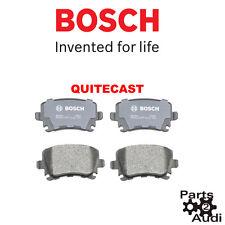 BOSCH QUITECAST REAR DISC BRAKE PADS FITS AUDI A3 A4 VW GOLF PASSAT TIGUAN