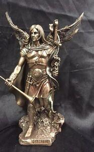 Arch Angel Gabriel The Messenger Of God Bronze Coated Statue 22cm H