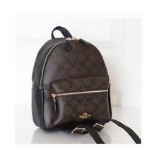 ❤️NWT Coach MINI CHARLIE BACKPACK 38302 SIGNATURE shoulder bag handbag