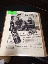 "Collectible 1937 Hires Rootbeer ""This Is The Tops"""