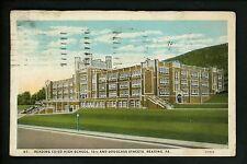 Pennsylvania PA postcard Reading Reading Co-ed High School