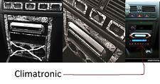 VW Golf-4 IV,Bora Set alu  per console  CLIMATRONIC (anno 1998-2003)