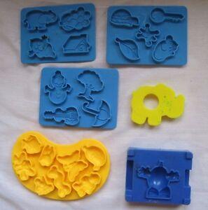 PlayDoh Sesame Street ABCs Company Parts Pieces 1973 Kenner Elephant 241 Vintage
