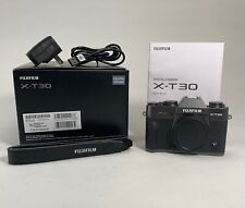 Fujifilm X-T30 26.1MP Mirrorless Camera - Charcoal Silver (Body Only)