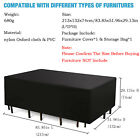 Garden Outdoor Outside Waterproof Cover Furniture Table Patio Rattan Large Sofa