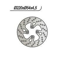 DISCO FRENO NG 716 YAMAHA 180 YP Majesty DD 2003-2006