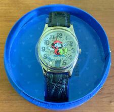 Classic Disney Mickey Adventures Fire Brigade Fossil Watch New in Box