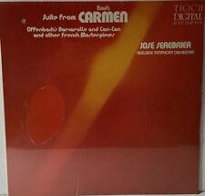 BIZET / CARMEN - JOSE SEREBRIER - TIOCH LABEL - DIGITAL PRESSING 1982 LP TD 1003
