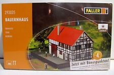 Faller 293035 Bauernhaus im Fachwerkstil (Lasercut) für Spur TT Neuware mit OVP