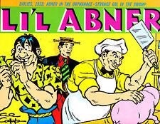 "Li'l Abner Vol 4-1989-Strip Reprints Hard Cover ""Dailies 1937  """