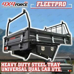 Universal 4X4FORCE Heavy Duty Steel Tray 1850x1850x300mm For Dual Cab Ute