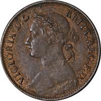 Great Britain Farthing 1886 KM #753 AU