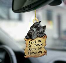 Cane Corso Get In Sit Down Shut Up Hang On Hanging Ornament
