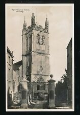 Gloucestershire Glos DURSLEY War Memorial Gates c1920s? RP PPC