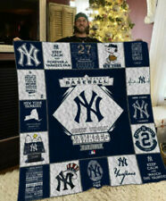 Mlb - New York Yankees Quilt Blanket 01