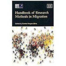 Handbook of Research Methods in Migration (Elgar Original reference), , Carlos V