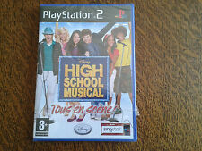 jeu playstation 2 disney high school musical tous en scene