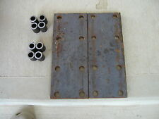 2) Farmall SH HV M MV 350  IH Tractor 8 hole fender extension bracket plates &sp