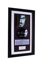GEORGE MICHAEL Older CLASSIC CD GALLERY QUALITY FRAMED!