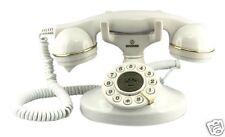Telefono Fisso Antico Retrò Vintage Anni 20 Bianco Grandi (tasti) Scrivania