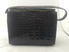 Vintage Gorgeous Crocodile Skin Kelly Handbag