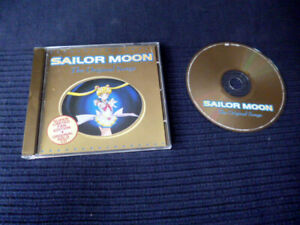 CD Sailor Moon - The Original English Songs Limited GOLDEN DISC Fan Edition