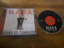 CD Pop Mana - Amar Es Combatir (13 Song) WARNER MUSIC jc