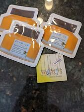3x FARMACY Honey Potion Hydration Mask Sample Packs 6g /.2oz Total = 18g /0.6 oz