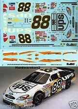 NASCAR DECAL #88 UPS 2002 FORD TAURUS DALE JARRETT - SLIXX