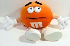 "M&M's Orange Plush 12"" Stuffed Toy 1999 Mars Inc M & M Candy Collection"