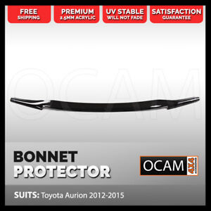 Bonnet Protector for Toyota Aurion 2012 - 2015 Tinted Guard